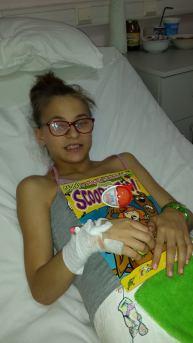 Georgiana Maican donatie450 lei in 2014
