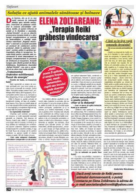 Interviu Reiki pentru animale Revista Taifasuri 24 iulie 2014-page-001